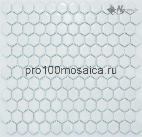 P-525 глянцевая. Мозаика СОТЫ, серия PORCELAIN, размер, мм: 260*300 (NS Mosaic)