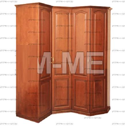 Шкаф угловой Лира (130/150х55х210)