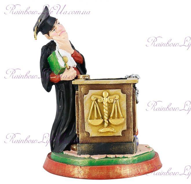 """Статуэтка - подставка для ручек и карандашей """"Судья"""""""