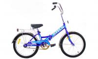 Городской велосипед STELS Pilot 310 20 Z011 (2018) Синий