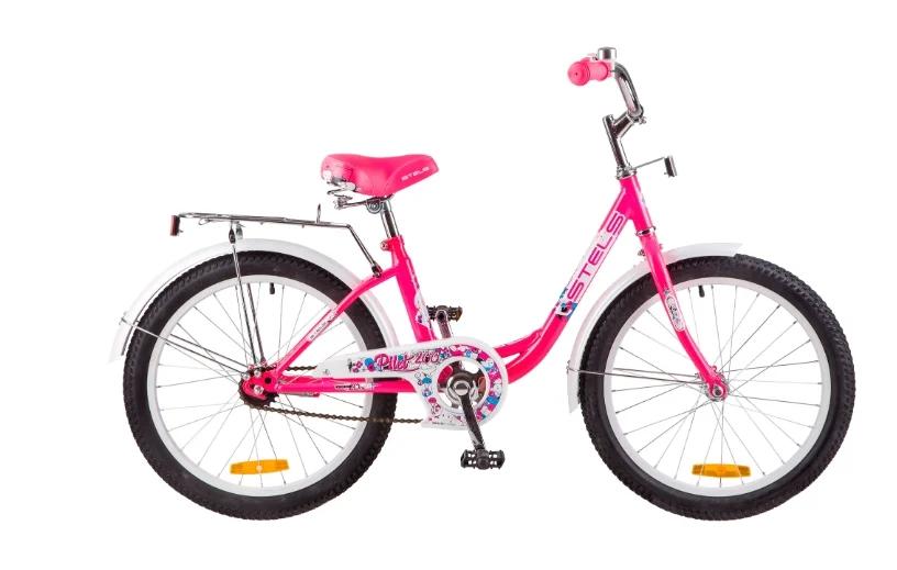 Подростковый городской велосипед STELS Pilot 200 Lady 20 Z010 Розовый