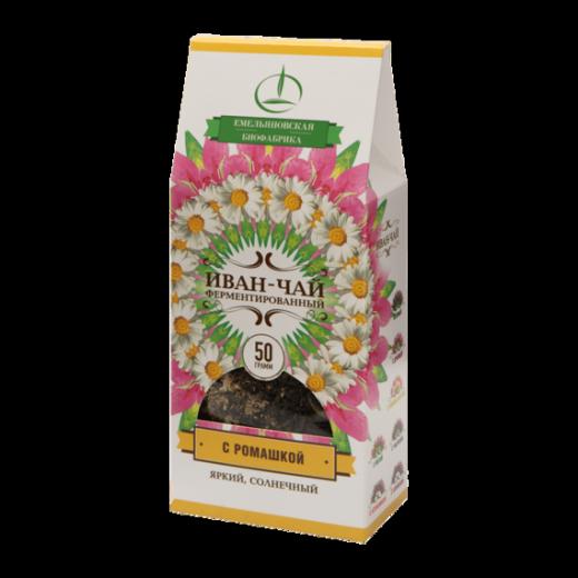 Иван-чай с ромашкой 50гр