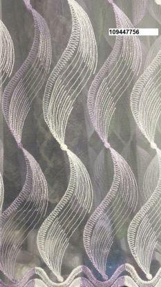 Тюль вышивка на сетке Турция 756