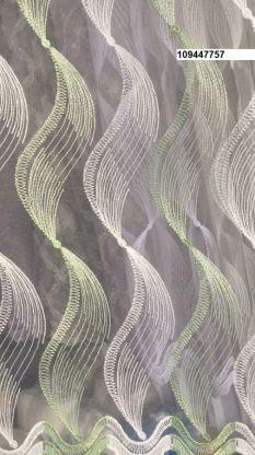Тюль вышивка на сетке Турция 757