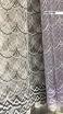 Тюль вышивка на сетке Турция 765