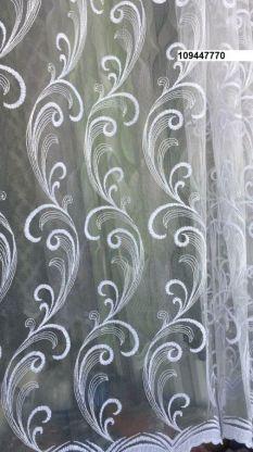 Тюль вышивка на сетке Турция 770