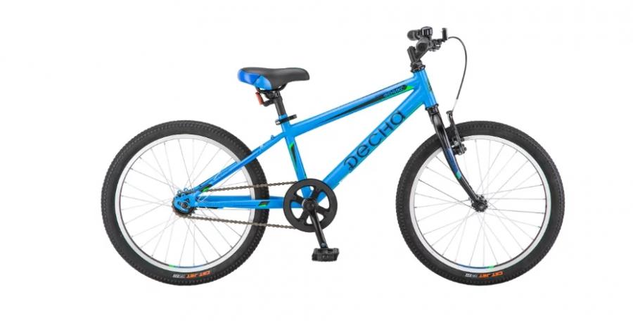 Подростковый городской велосипед Десна Феникс 20 (2018) Синий