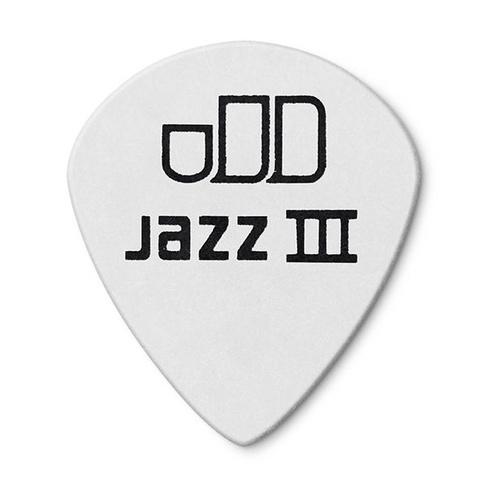 DUNLOP 478R1.5 Tortex White Jazz III Медиатор 1.5мм