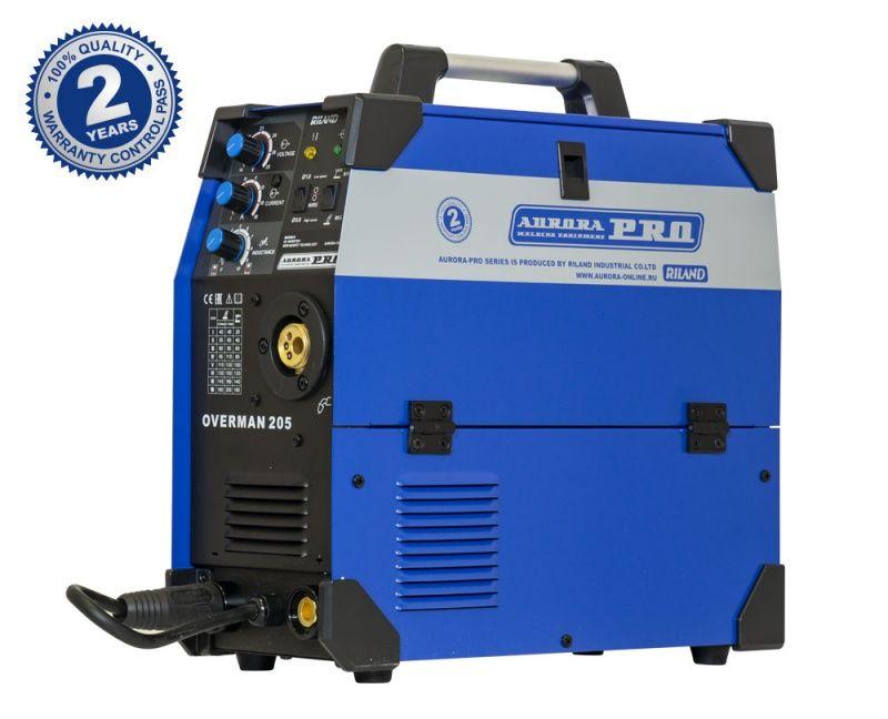 Инверторный сварочный полуавтомат AuroraPRO OVERMAN 205 (MOSFET)
