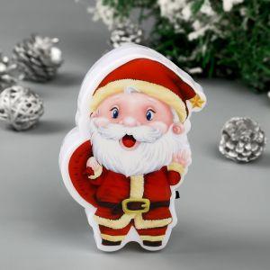 """Ночник """"Дед Мороз"""" LED  6х4,5х9,5 см.   4439708"""