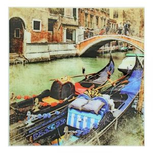"""Картина на стекле """"Венеция"""""""