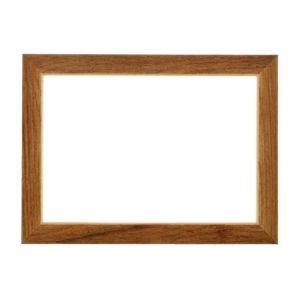 Рама для зеркал и картин, дерево, 21 х 30 х 3.0 см, липа, «Венге тёмный»