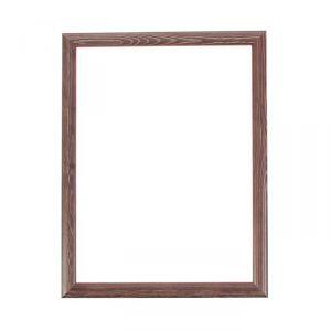 Рама для зеркал и картин, дерево, 30 х 40 х 2.6 см, Berta темно-коричневая