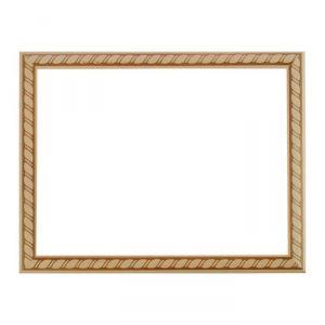 Рама для зеркал и картин, дерево, 30 х 40 х 3.0 см, липа, «Грация»
