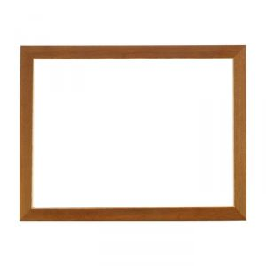 Рама для зеркал и картин, дерево, 30 х 40 х 3.0 см, липа, «Венге тёмный»