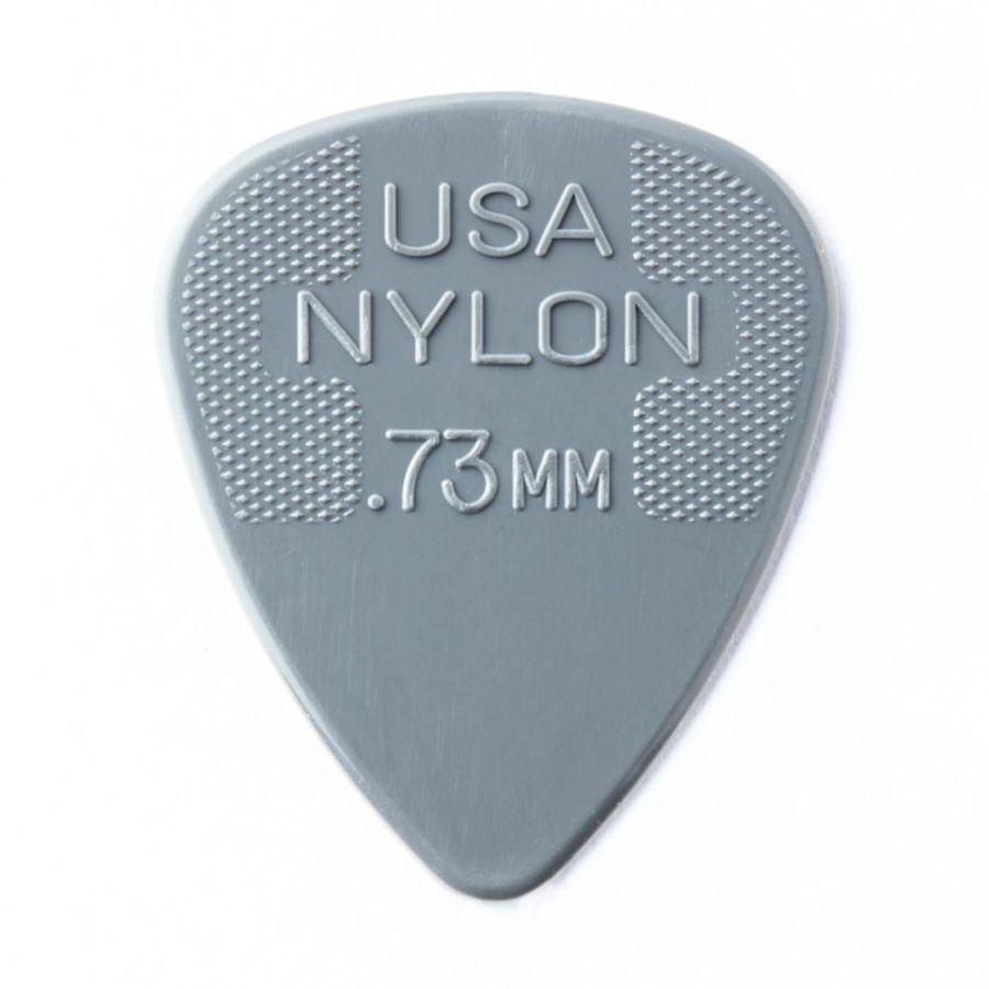 DUNLOP 442R.73 Nylon Standard Медиатор 0.73мм