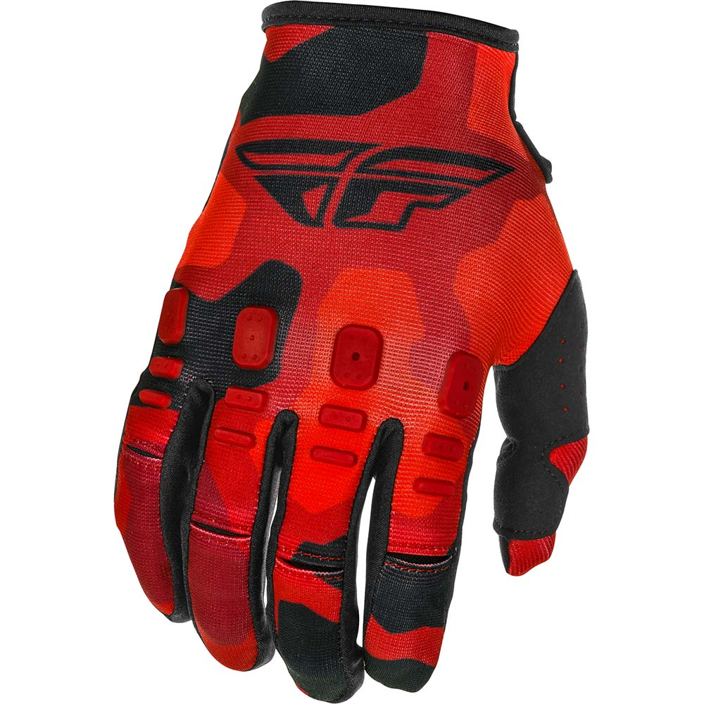 Fly Racing 2021 Kinetic K221 Red/Black перчатки