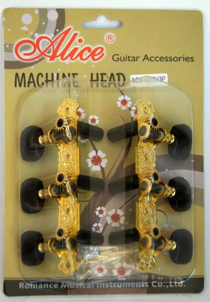 ALICE AOS-020V3P Комплект колковой механики для классич. гитары