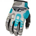 Fly Racing 2021 Kinetic K221 Grey/Blue перчатки