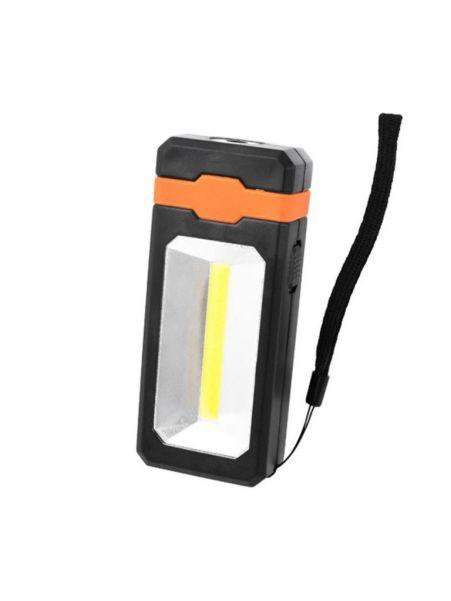 Светодиодный фонарь с солнечной батареей и USB питанием