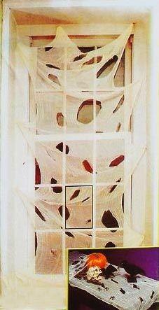 Жуткая ткань для декорации  (80 -150 см)