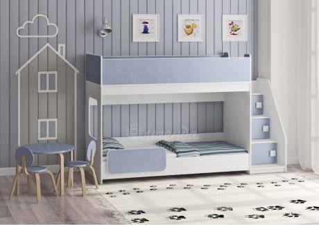 Двухъярусная кровать Легенда 43.4.1