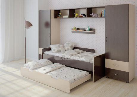 Двухъярусная кровать Легенда 14.3
