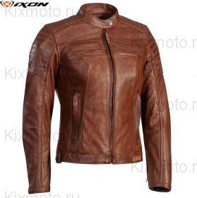 Женская мотокуртка Ixon Spark, Светло-коричневая