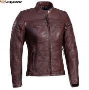 Женская мотокуртка Ixon Spark, Темно-красный