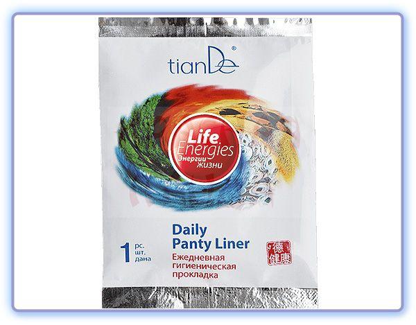 Ежедневная гигиеническая прокладка Энергия жизни TianDe