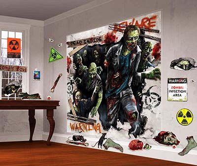 Большой комплект Зомби (30 декораций)