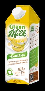 Напиток безалкогольный соевый со вкусом банана