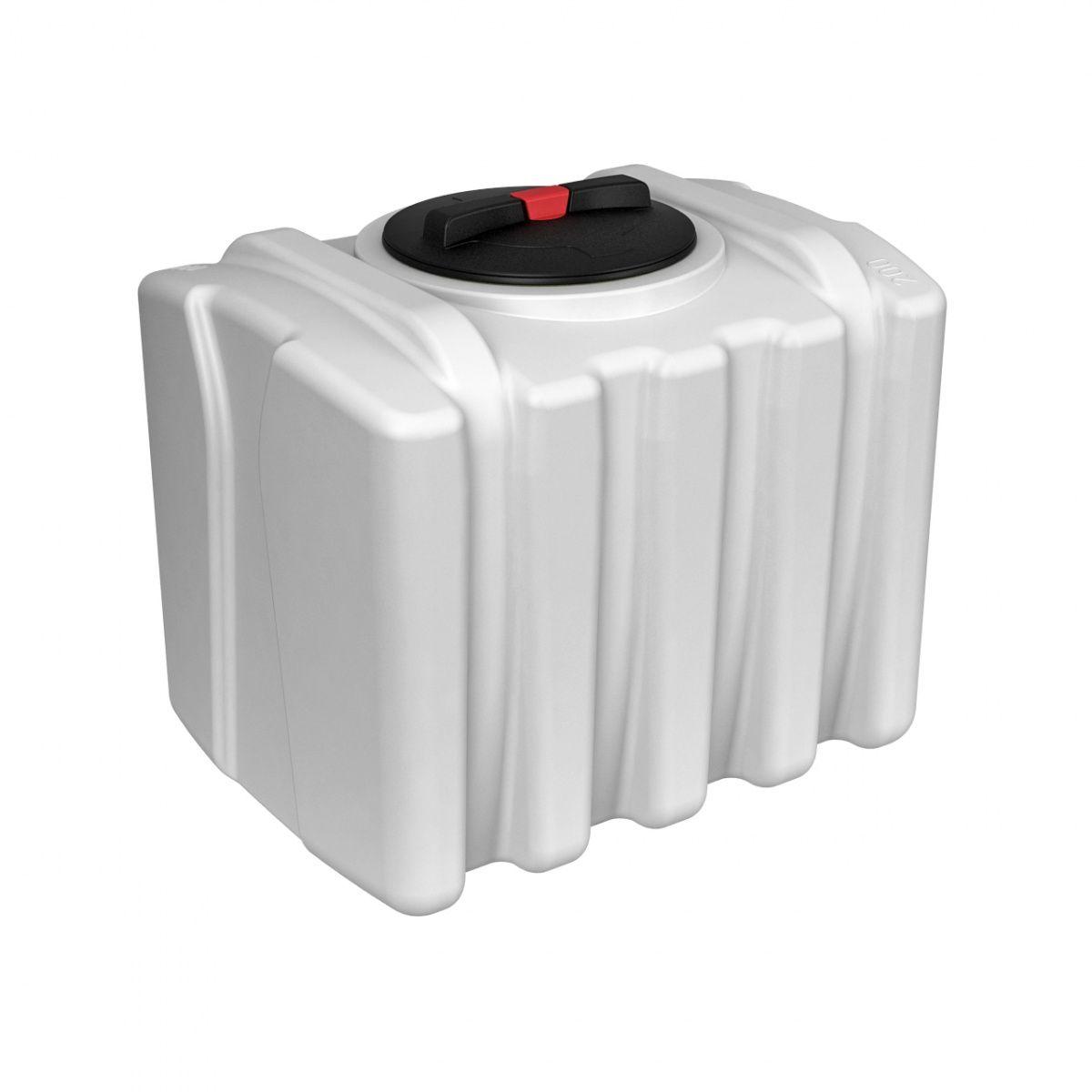 Емкость для воды ЭВП 200 литров белый пластиковая