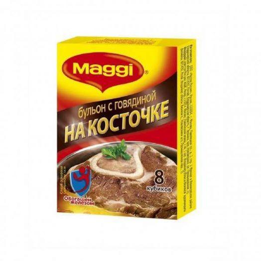 Бульон Магги говяжий на косточке 8 шт 72г