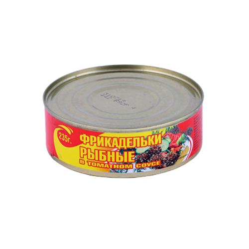 Фрикадельки рыбные в т/с ж/б 235г ТМ Домашние консервы