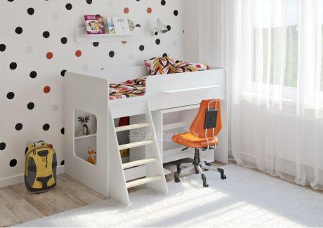 Детская кровать Легенда 22.2 белая