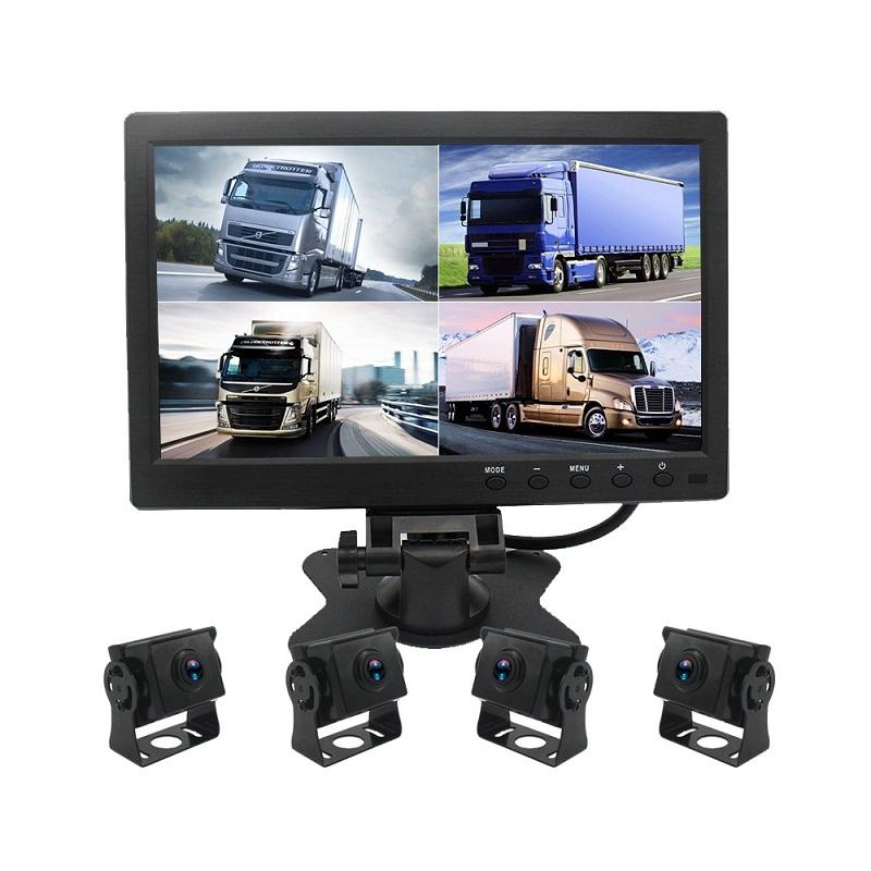 Камеры для грузовиков 4 шт с монитором AHD (PZ614)