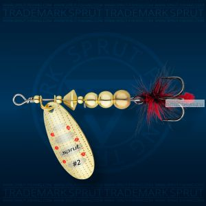 Блесна вращающаяся Sprut Caspia Spinner №2 / 4,5 гр / цвет: G