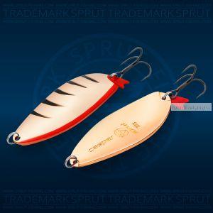 Блесна колеблющаяся Sprut Casper Spoon 78мм/33 гр / цвет: CP