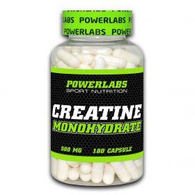 Creatine Monohidrate от Powerlabs 180 капсул