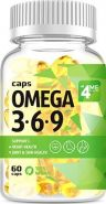 Omega 3-6-9 от 4Me Nutrition 60 капс