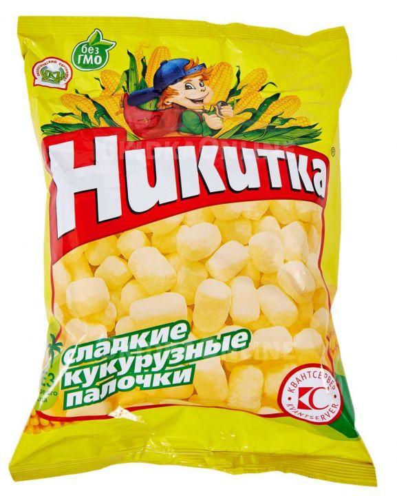 Кукурузные палочки Никитка 160г