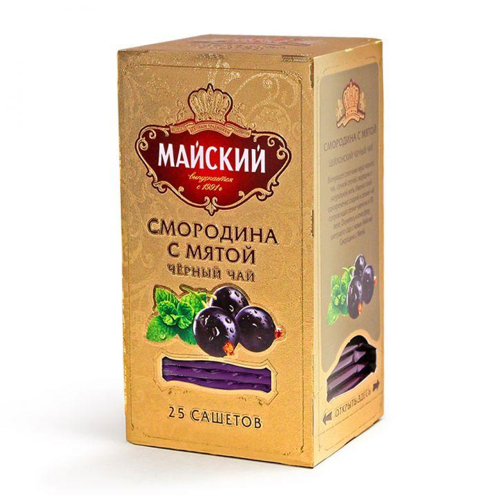 Чай Майский Смородина с мятой 25пак*2г