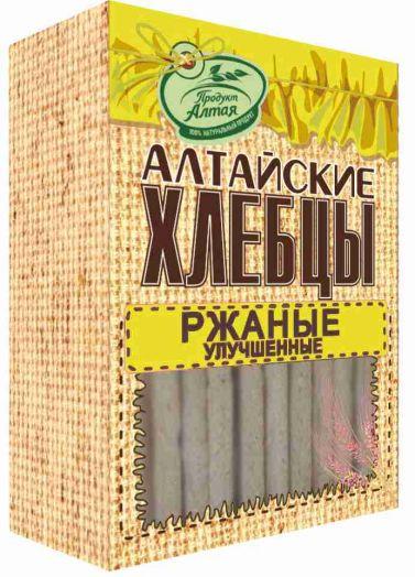Хлебцы-слайсы ржаные 75г Бийск