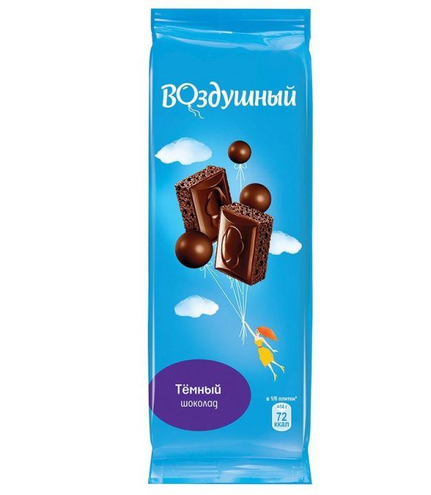 Шоколад Воздушный темный 85г