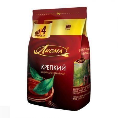 Чай Лисма Индия крепкий ср/лист м/у 300г