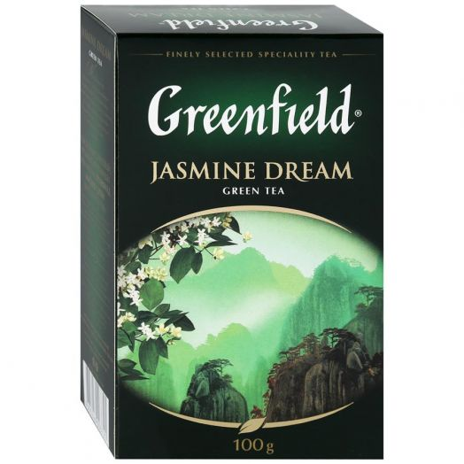 Чай Гринфилд Жасмин Дрим зеленый 100г