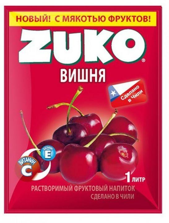 Напиток Zuko 25г вишня