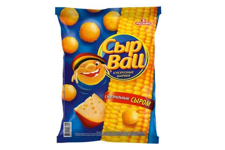 Кукурузные шарики СырBal сыр 80г