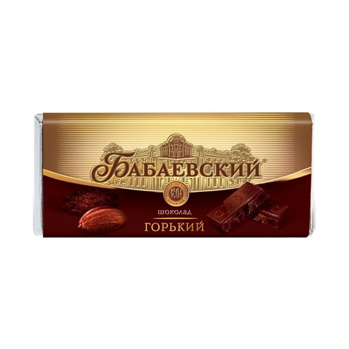 Шоколад Бабаевский Горький 60г